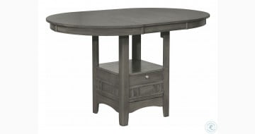 Lavon Gray Extendable Counter Height Dining Table