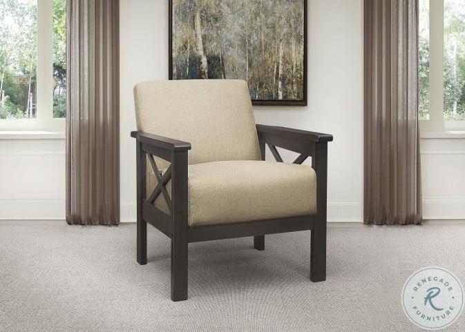 Herriman Light Brown Accent Chair