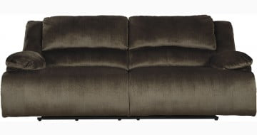 Clonmel Chocolate 2 Seat Power Reclining Sofa