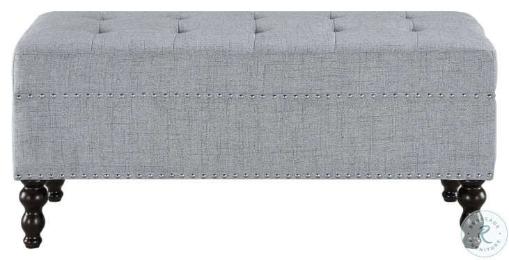 Hamden Light Gray Bench