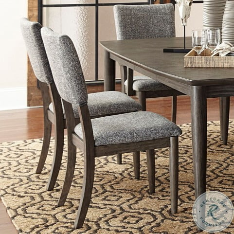 Roux Gray Side Chair Set of 2