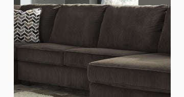 Jinllingsly Chocolate Armless Loveseat