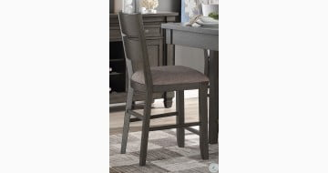 Baresford Gray Counter Height Chair Set Of 2