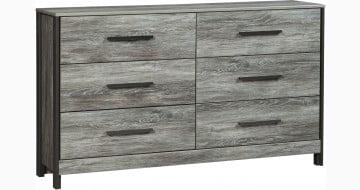 Cazenfeld Black and Gray Dresser