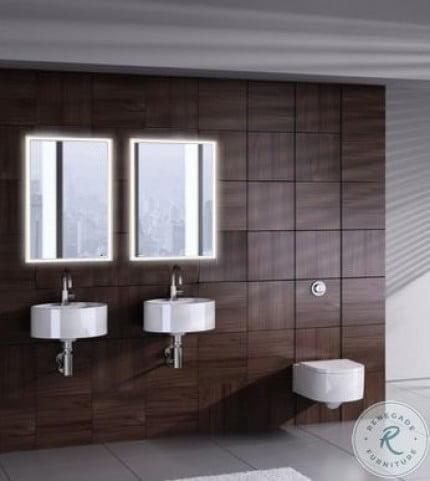 "Quadro 23.5"" Right 4000K LED Bathroom Cabinet"