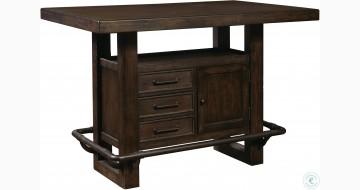 Stout Storage Leg Bar Table