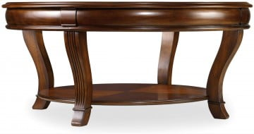 Brookhaven Cherry Finish Round Cocktail Table