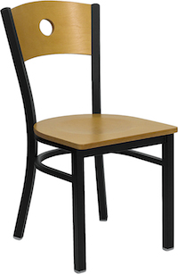 Metal Restaurant Chairs