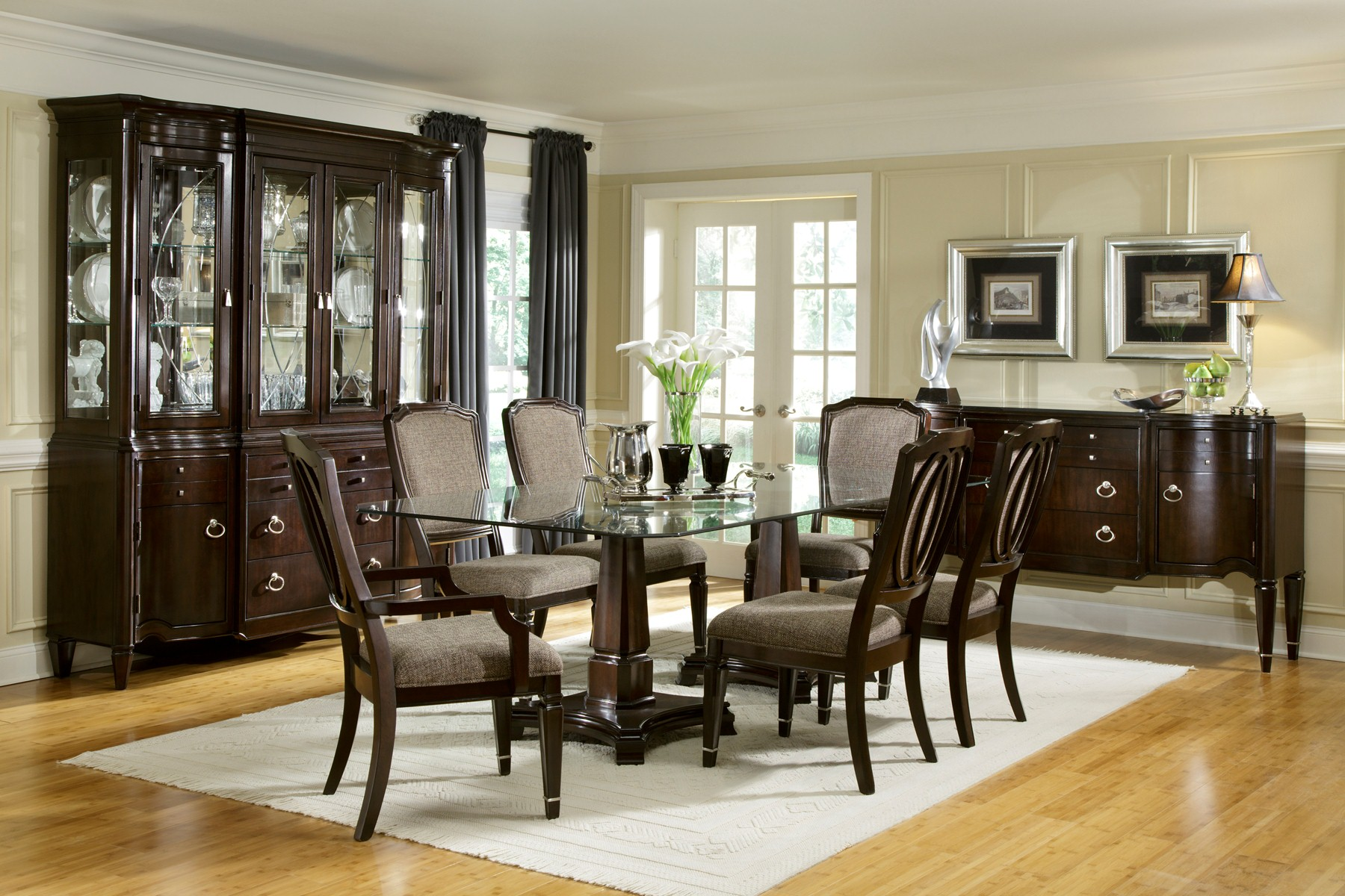 furniture dining room furniture glass collection