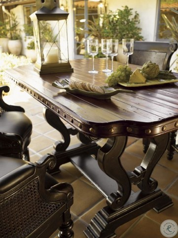Kingstown Warm Burnished Cassis Sienna Bistro Table