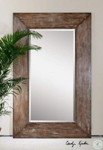 Langford Large Wood Mirror