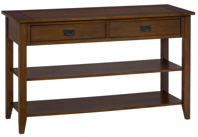Mission Oak Sofa Table