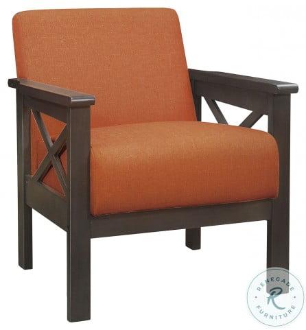 Herriman Orange Accent Chair