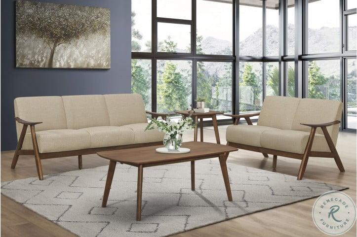 Damala Light Brown Sofa
