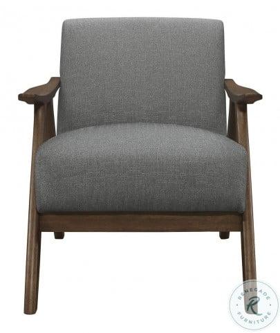 Damala Gray Accent Chair