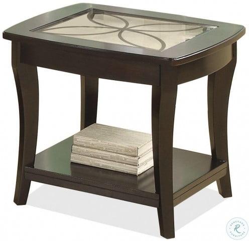 Annandale Dark Mahogany End Table