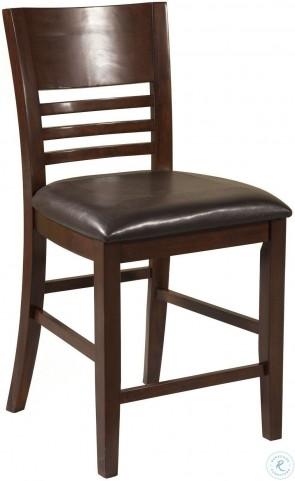 Granada Merlot Pub Chair Set of 2