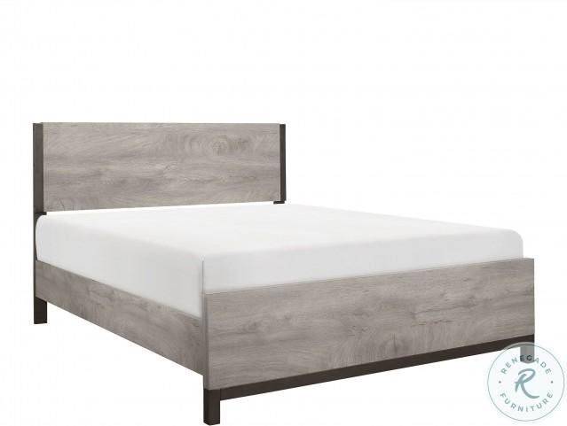 Zephyr Brown Panel Bedroom Set