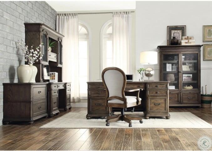 Belmeade Old World Oak Lateral File Cabinet