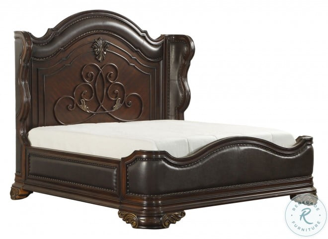 Royal Highlands Rich Cherry Cal. King Panel Bed