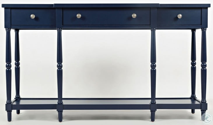 """Stately Home Navy 60"""" Console"""
