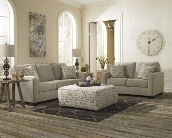 Alenya Quartz Fabric Accent Chair