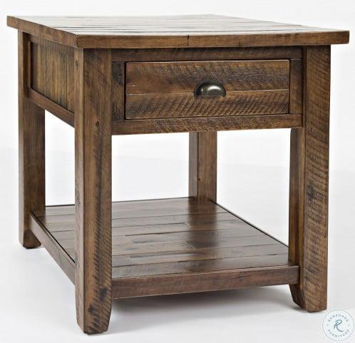 Artisans Craft Dakota Oak End Table