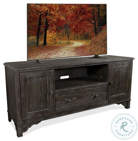 """Grand Haven Rich Charcoal 68"""" Tv Console"""