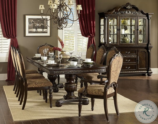 Russian Hill Cherry Extendable Dining Room Set