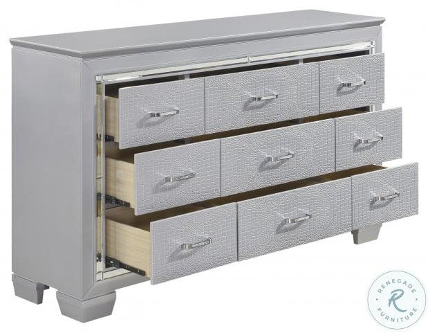 Allura Silver Dresser