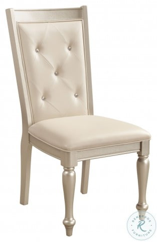 Celandine Silver Side Chair Set of 2
