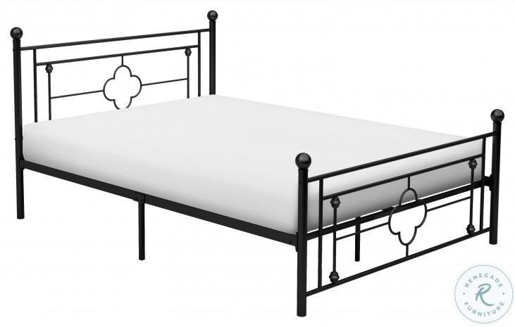 Morris Black Full Metal Poster Bed