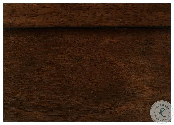 Mayville Brown Cherry Dresser