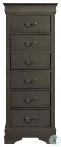 Mayville Stained Grey Sleigh Bedroom Set