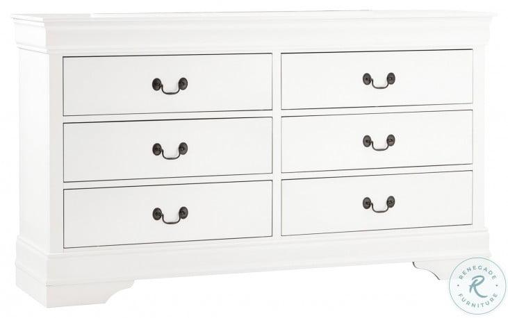 Mayville White Dresser