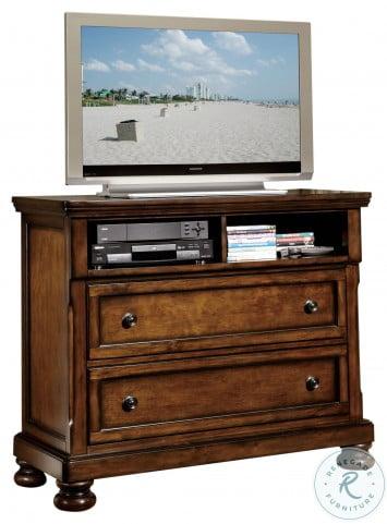 Cumberland Brown Cherry TV Chest
