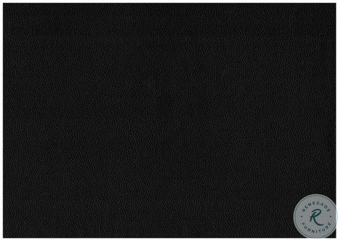 Lorenzi Black Twin Upholstered Platform Bed