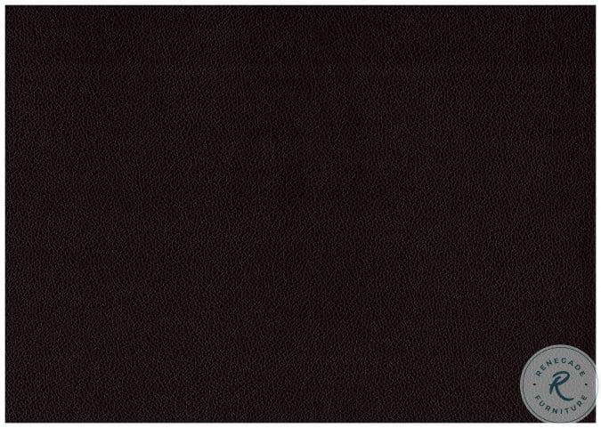 Lorenzi Dark Brown Twin Upholstered Platform Bed