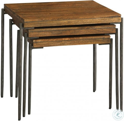 Bedford Park Brown and Gray Nesting Tables