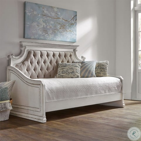 Magnolia Manor Antique White Twin Daybed