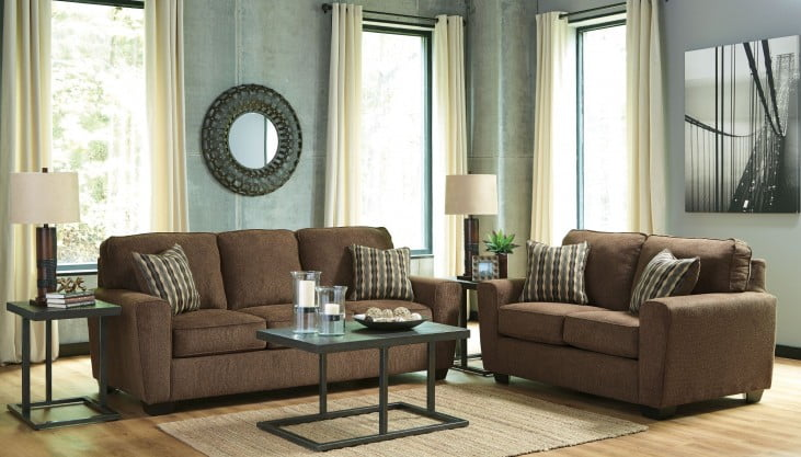 Airdon Golds 3 Piece Occasional Table Set