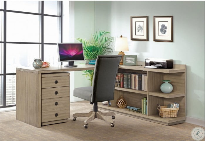 Perspectives Sun Drenched Acacia Mobile File Cabinet