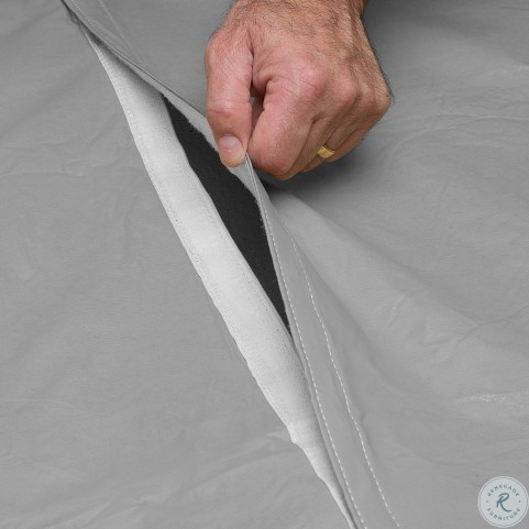 "Grey 48""-54"" 5-7 Piece Outdoor Bar Set Cover With Umbrella Hole"