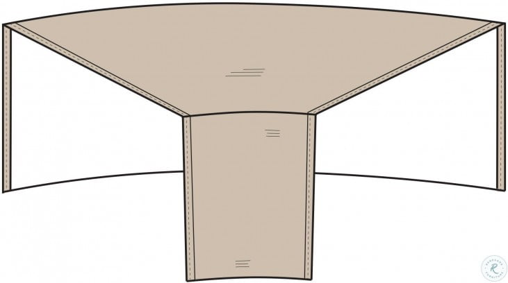 Tan Outdoor Wedge Cover