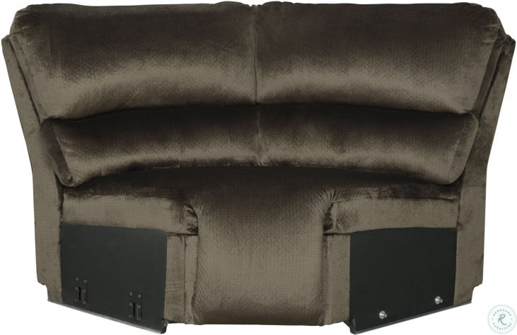 Clonmel Chocolate LAF Reclining Sectional