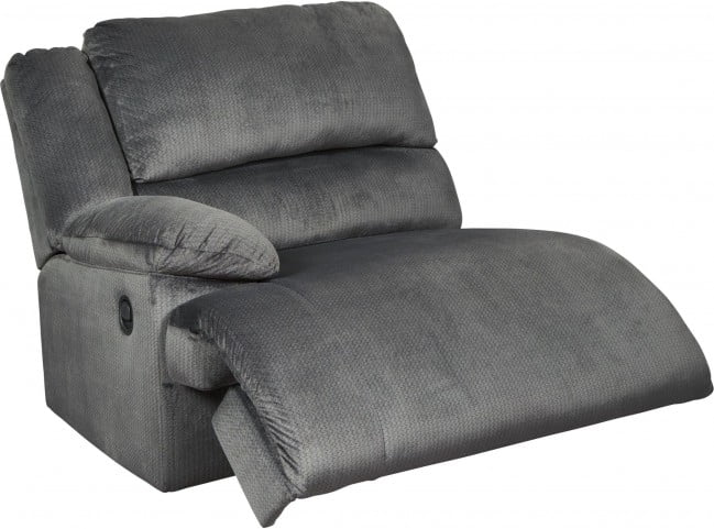 Clonmel Charcoal Small Console Power Reclining RAF Sectional