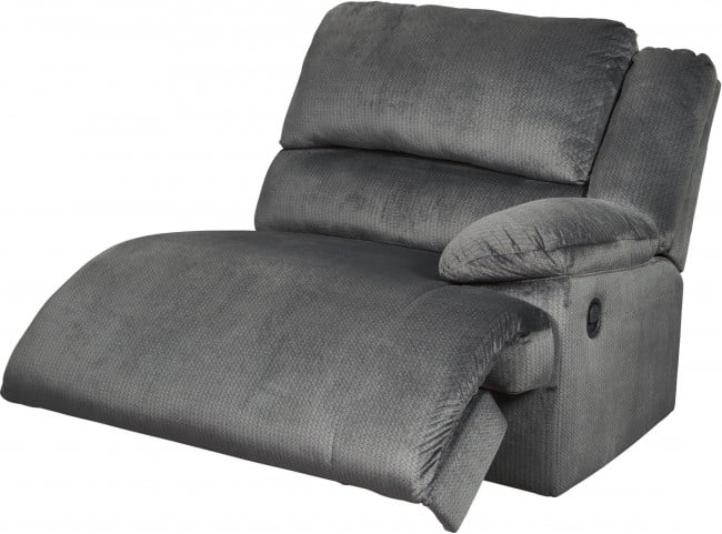 Clonmel Charcoal Reclining LAF Sectional