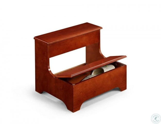 3910 Warm Red Step Stool