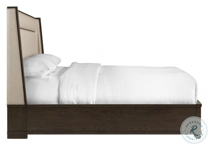 Monterey Mink King Storage Platform Bed