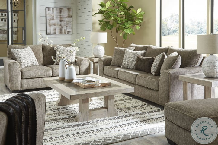 Olin Chocolate Living Room Set